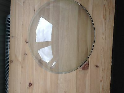 Vintage circular glass dome for 3D / diorama craft use
