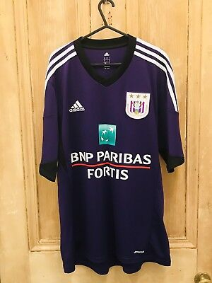 Adidas Anderlecht 13/14 Shirt Size L Excellent Condition Free Postage