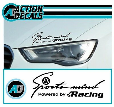 fits Ford /'Sports Mind/' powered by~*ZETEC S *~ Body Panel sticker decal