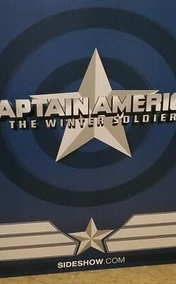 Captain America Winter Soldier 24 Inc Sideshow Statue
