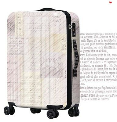 E659 Lock Universal Wheel ABS+PC Travel Suitcase Cabin Luggage 20 Inches W
