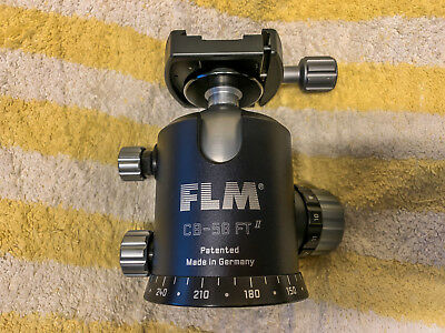 New Flm Cb-58 Ft Pro 58Mm Ball Head With  Quick Release Clamp