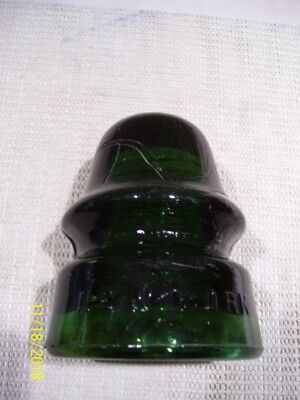 Brookfield glass insulator believed to be a CD 162.1 or CD 162.3