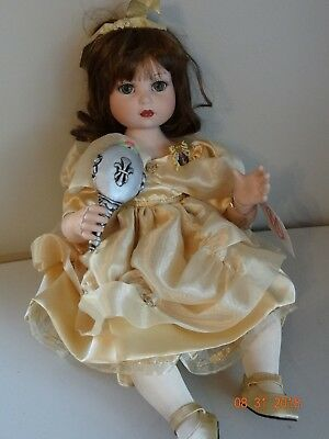 """10th Anniversary Baby Belle"", Disney, Marie Osmond Doll & Pin, Hand #328/1000"