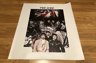 The Who Limited Edition Canvas 96/100