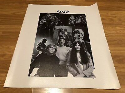 Rush Limited Edition Canvas 100/100