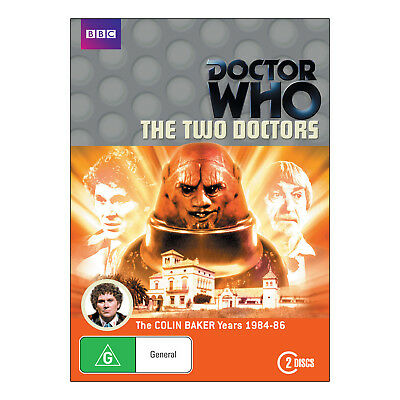 Doctor Who: The Two Doctors DVD Brand New Aust. - Colin Baker, Patrick Troughton