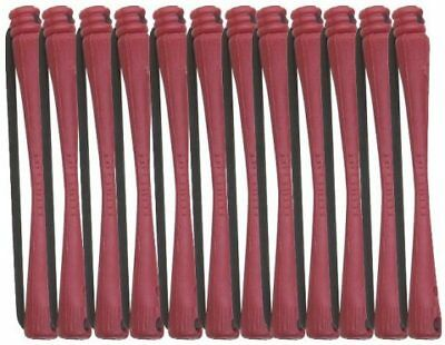 Pureox cold-wave rods 4*75mm (DARK RED) - perm roller Hair Colour Color