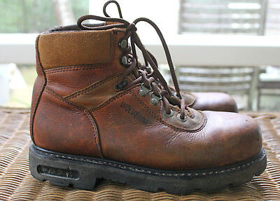 68b261606f0 WOLVERINE STEEL TOE ASTM F2413-05 Leather & Suede 6
