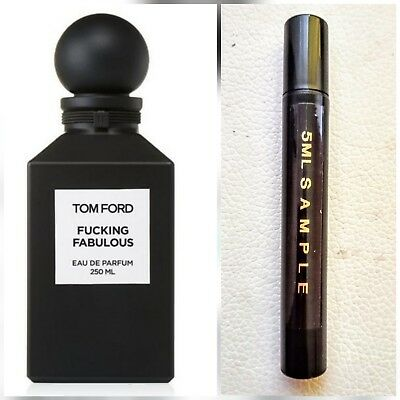FUCKING FABULOUS TOM FORD EDP Limited Edition 5ml Sample FREE POSTAGE