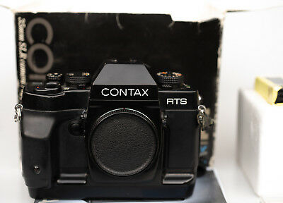 ** As-is **  CONTAX RTS III RTSIII SLR Film Camera Body