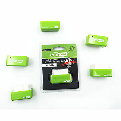 Eco OBD OBD2 Economy Fuel Saver Tuning Box Chip For Petrol Car Gasoline Saving