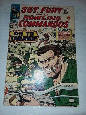 Sgt. Fury #49 VF Off-White Pages GREAT COVERS (Dec 1967, Marvel)