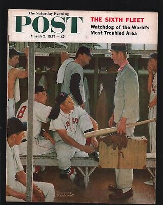 Saturday Evening Post - March 2, 1957 - Norman Rockwell