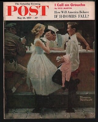 Saturday Evening Post - May 25, 1957 - Norman Rockwell
