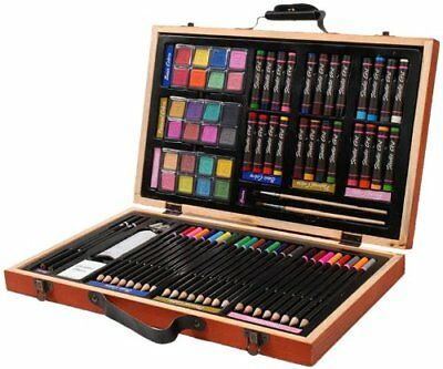 80 Pcs Deluxe Art Set for Beginner, Xmas Gifts Girls Boys Age 2 3 4 5+ Toy Gift
