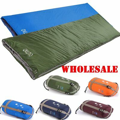 Lightweight Sleeping Bag Camping Backpacking Mummy Winter Cold Weather WX