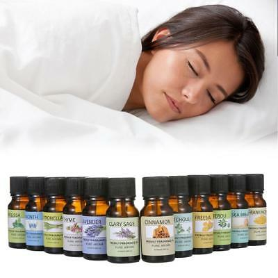 12 Types Essential Oils  for Air Diffuser Aroma Therapy Humidifier Mist Vapor