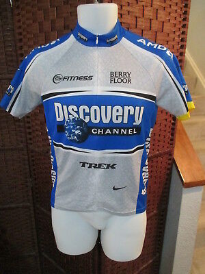 b091c8301 MENS NIKE DRI-FIT Discovery Channel Trek AMD ¾ Zip Cycling Bike ...