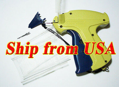 "Clothing / Garment Price Label Tag Tagging Gun + 2"" 1000 Barbs & 1 Extra Needle"