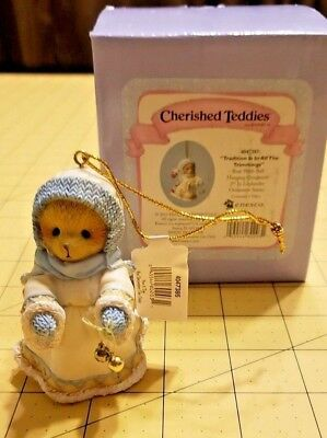 Cherished Teddies Ornament 4047385 Tradition Is In All The Trimmings Laplander