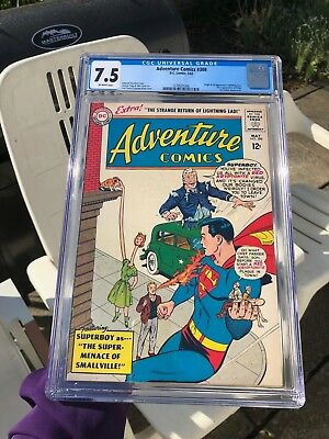 Adventure Comics 308 CGC 7.5 - Origin and 1st app of Lightning Lass! Legion