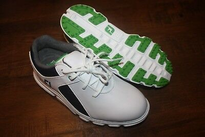 e0c91ed09b61f New In Box FootJoy Boys Kids Junior Pro SL Golf Shoes 45039 SHIP FREE US  FAST