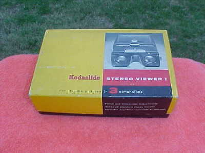 Vintage Kodak hand held Slide Viewer -unused in orig. box-works great