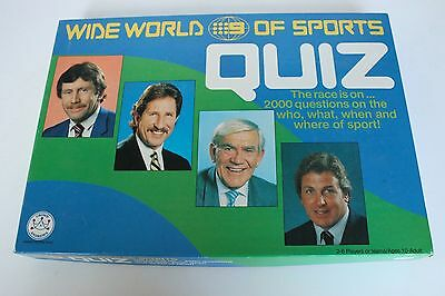 Wide World Of Sports Quiz Board Game Crown Andrews1988