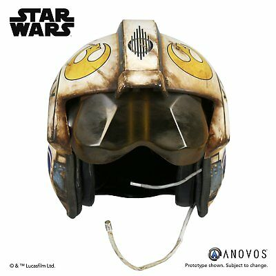 Anovos Star Wars The Force Awakens Rey Salvaged X-Wing Helmet Accessory Statue