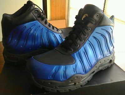 Nike Foamposite Boot Acg Royal Blue 60 00 Picclick