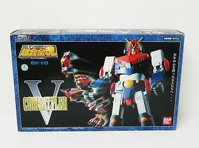 BANDAI Combattler V GX-03 Soul of Chogokin Diecast action figure from japan