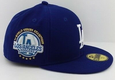 c70661a3cd6065 Los Angeles Dodgers MLB New Era 59FIFTY fitted/hat/cap/6x World Series