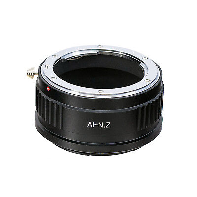 AI-NIK Z Ring Adapter for Nikon F Mount Lens to Nikon Z7 Z6 Cameras Replace FTZ