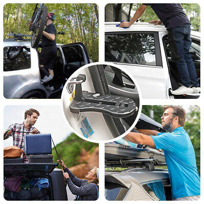 Auto Roof Racks Doorstep Moki Door Step Rooftop Gives You a Step Latch Hook DE