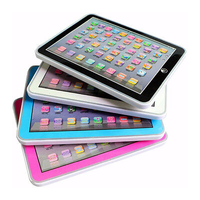 Baby Tablet Educational Toys Kids For 1-6 Years Toddler Learning English Gift H4