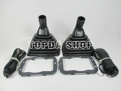 1pair Handle rod handle handle dust cover For Komatsu PC200/360-6-7-8
