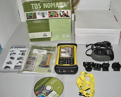 TDS Trimble Nomad 800LC Yellow BT/802/GPS Handheld Data Collector PDA As New