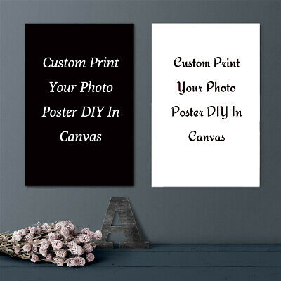 Custom Poster Print Photo Decorative Paint Canvas Art Home Wall Room Decor Gift