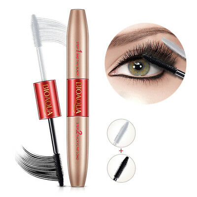 Dual-ended Wimperntusche Eyes Makeup Waterproof Black Wimper Extension Werkzeug