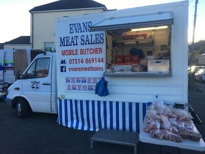 Mobile Butchers Van Shop Refrigerated. Health Approv. Market. Auction. Work Now