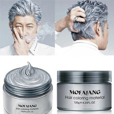 New Fashion Unisex DIY Hair Color Wax Mud Dye Cream Temporary Modeling 7 Colors