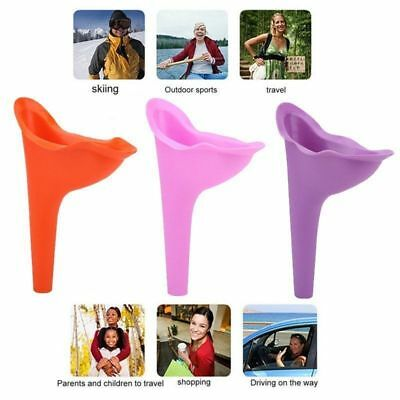 3 Colors Camping Female Her She Urinal Funnel Ladies Woman Urine Wee Loo Travel