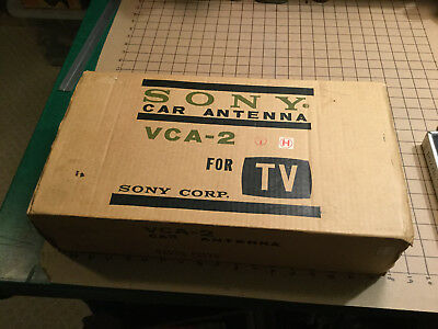 Vintage Unused SONY CAR ANTENNA - VCA-2 for TELEVISION -