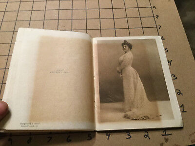 Vintage Song Recital MADAME LILLIAN NORDICA 1909 - 30pgs + 6 images