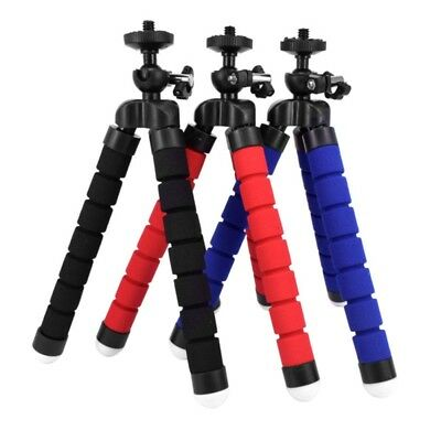 Universal Mini Octopus Tripod Stand Grip Holder Mount For Mobile Phone Camera UK
