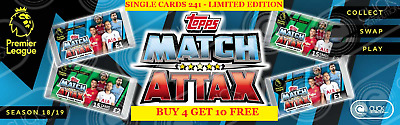 Topps EPL Match Attax Season 2018/19 Single Cards 241-Limited Edition (2018)