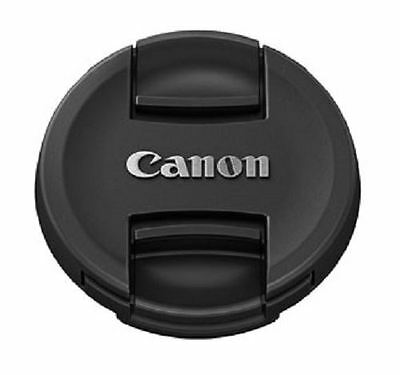 Genuine Canon E-52II Pinch Lens Cap for 52mm DSLR Lenses
