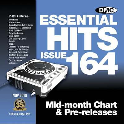 Essential Hits 164 DJ CD Radio Edit Chart Music ft Ariana Grande 'Thank U NEXT'