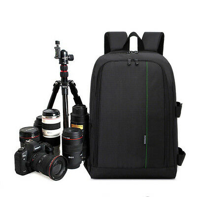 Waterproof Multi-function DSLR Camera Bag Case Backpack For Canon Nikon Sony HOT